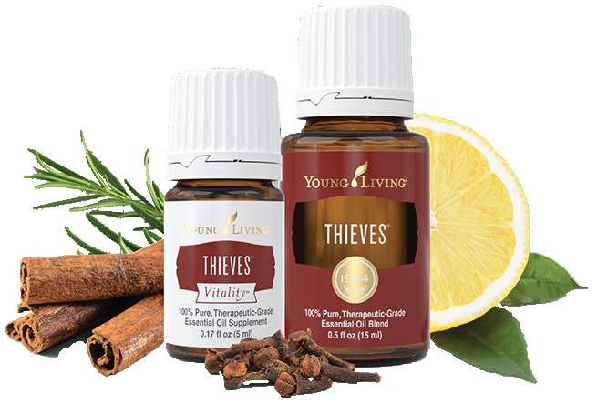 Young Living Essential Oils | Thieves